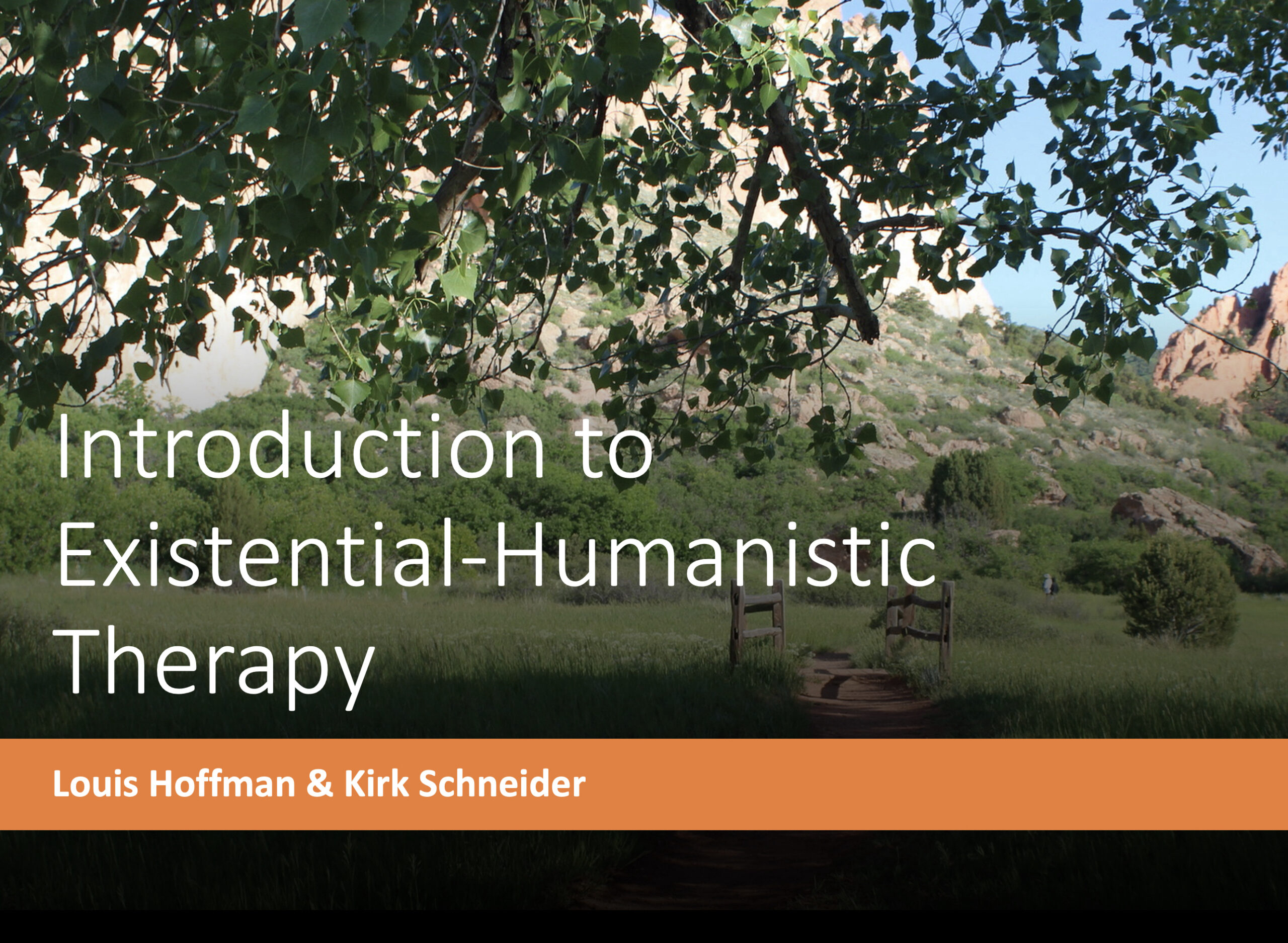 Introduction to Existential Humanistic Therapy (Archived Version) Image